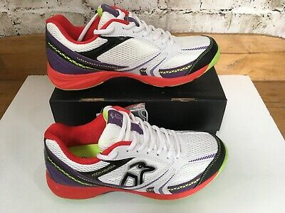 Kookaburra Rampage 500 Childrens Cricket Shoes Boys Spikes Laces Fastened Mesh