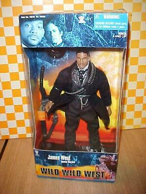 MIB! JAMES WEST SPECIAL MARSHALL Will Smith Action Figure Wild Wild West Toy