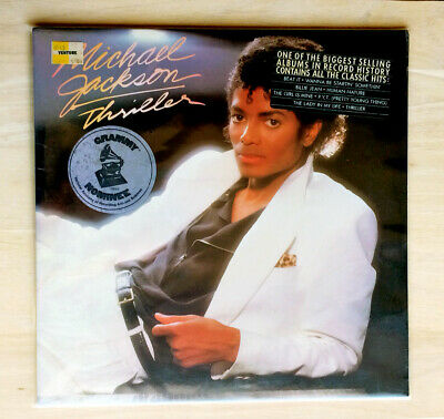 Michael Jackson Thriller Original 1982 LP Vinyl Album *NEW, SEALED W/ STICKERS*