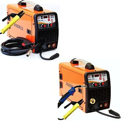 150Amp, 200Amp Mig/Mag/Flux Cored Wire/Mma 4 In 1 Dc Inverter Welder Gas Gasless