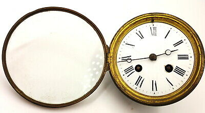 Antique Brevete Clock movement and face