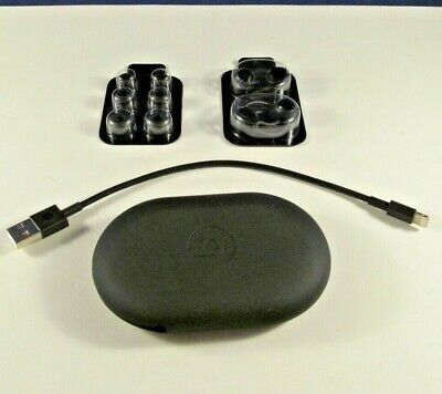 Genuine Beats X Beatsx Accessories (Case, 3 Ear Tips, Wing Tips, Cable) - Black