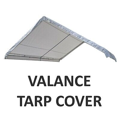 CANOPY TOP VALANCE Replacement Canopy Tarp Carport Cover for