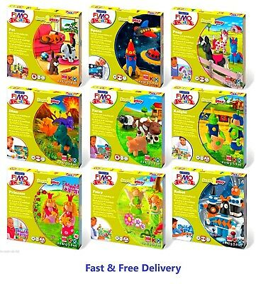 FIMO Kids Form & Play Clay Modelling Sets - Creativity, Imagination & Learning