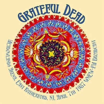 Grateful Dead - Meadowlands Arena, East Rutherford, Nj, April 7th 1987 NEW 2xCD