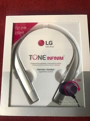 eccffcd9ace LG Tone Infinim Wireless Bluetooth Headphones HBS-920 Silver New Highest  Quality