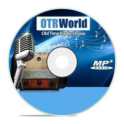 Stand By For Crime Old Time Radio Shows OTR MP3 On CD 26 Episodes