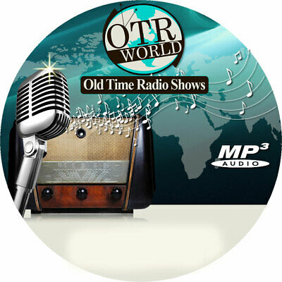 Crime Does Not Pay OTR Old Time Radio Show MP3 On CD 43 Episodes