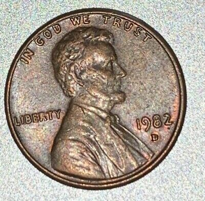 1976 DOUBLE DIE reverse One Cent US Error Lincoln Penny Coin verry