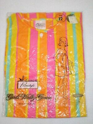 Vintage Girls Size 12 Woolworth Primstyle Waltz Gown New circa Late 60's 70's