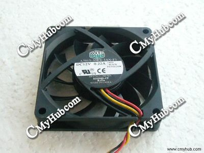 Cooler Master A4010-70RB-3QN-F1 12V 0.16A 40*40*10MM 3Pin Cooling Fan