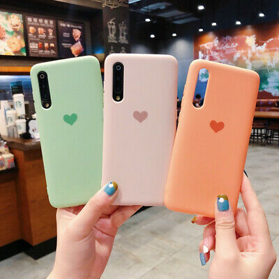 Matte Love Heart Soft Case Cover For Huawei P30 Pro Mate 20 10 P20 Lite Nova 3i
