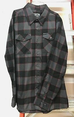 NEW Snap On Tools Dixxon Limited Edition Flannel Shirt XL FREE shipping to USA