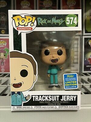 Funko Pop Rick & Morty - TRACKSUIT JERRY - SDCC 2019 SHARED EXCLUSIVE - PREORDER