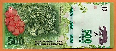 ARGENTINA ND (2016) UNC 500 Pesos Banknote Paper Money Bill P-365