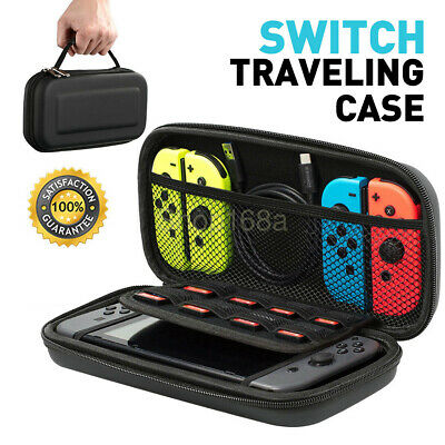 For Nintendo Switch Travel Bag Game Console Carry Cover Card Protector EVA Case