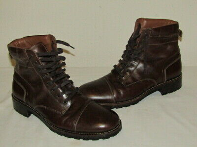 4816b059b71 WOLVERINE 1000 MILE Mens 11 D 43 Montgomery Leather Lace Up Work Boots  W05311