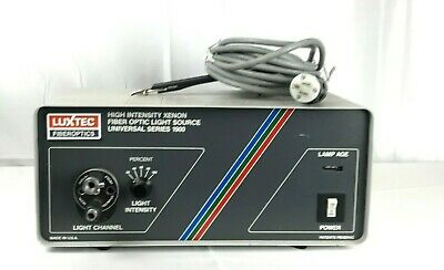 Luxtec 1900 Fiber Optic Xenon Endoscopic Light Source 5656