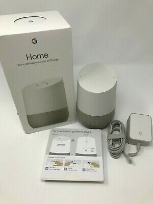Google Home Personal Assistant Smart Speaker - White/Slate New in Box