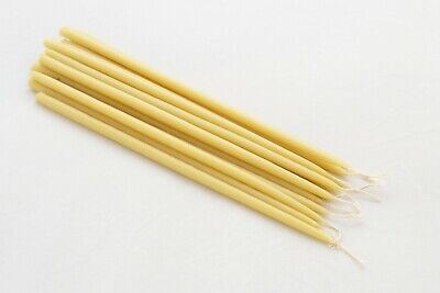 40 x Pure Beeswax Taper Candles, 100% Pure Beeswax Candle -  AUSTRALIAN MADE