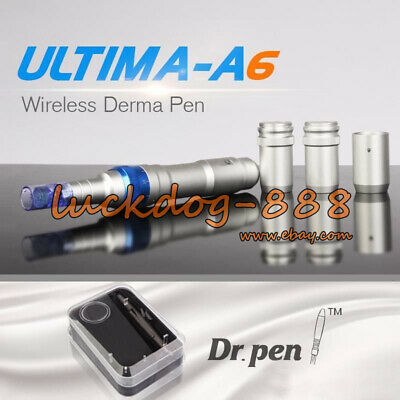 Ultima A6 DR. STYLO Auto micro aiguille Rechargeable + 2Pcs 12Pin aiguilles