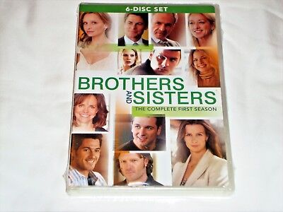 Brothers and Sisters The Complete First Season, Season 1(DVD,2007,6-Disc) Sealed