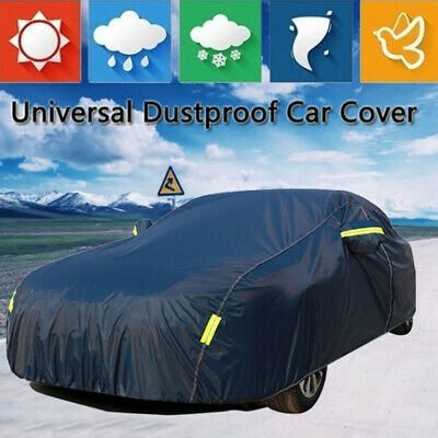 Heavy Duty Waterproof Full Car Cover UV Protection Outdoor Breathable Large XL