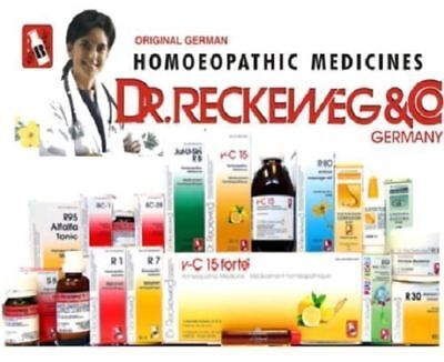 R63 DR RECKEWEG Germany 22ml Drops Homeopathy Homeopathic