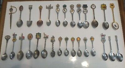 STATE- CITIES- PLACE- Collectible Souvenir SPOON 45+ Choice Various Vintage2 Now