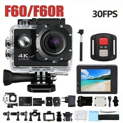 G53ER Action Camera WiFi HD 2.0 12MP 170° Wide Angle Waterproof DVR Recorder DV