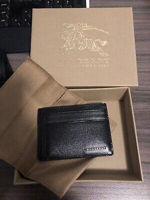 Burberry Leather card holder brand new