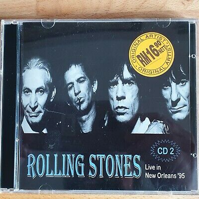 Rolling Stones - Live In New Orleans '95 Cd2  (Rare, Wrongly Dated Cd)