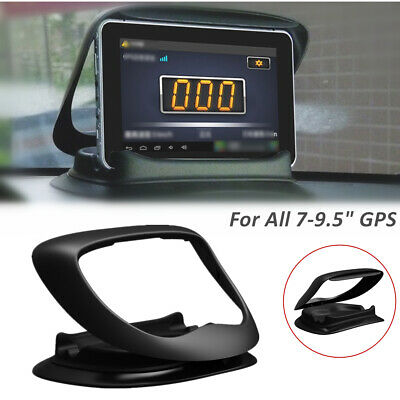 "GPS Pad Mount Holder Car Dashboard Stand Bracket for 7""-9.5"" Device Safe Driving"