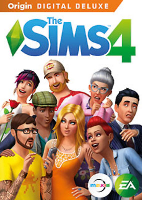 The Sims 4 Deluxe Edition FULL GAME PC (Read Description)