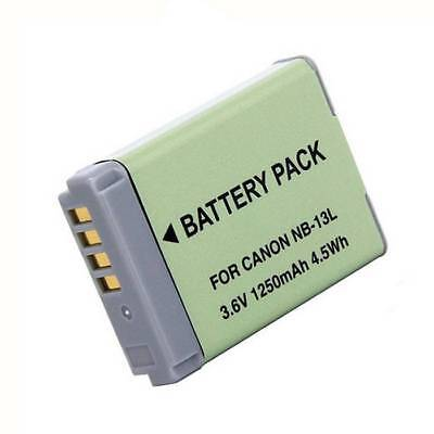 Replacement Battery for Canon NB-13L SX720 HS G7 X MARK II G7X G9X SX720 HOT UK