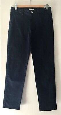 H&M Boys Trousers Stretch Slim Fit Navy Age 12-13 Excellent Condition