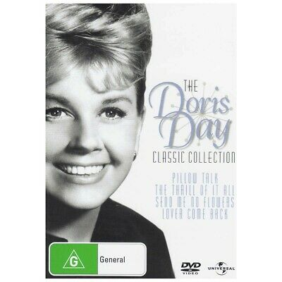 DORIS DAY COLLECTION DVD - 4 Movies - Pillow Talk Send Me No Flowers brand new