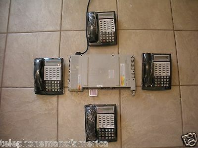Avaya Lucent AT&T Partner ACS Business Phone System w 4 Partner 18D + Voice Mail