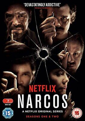Narcos: The Complete Seasons One & Two  DVD  Wagner Moura