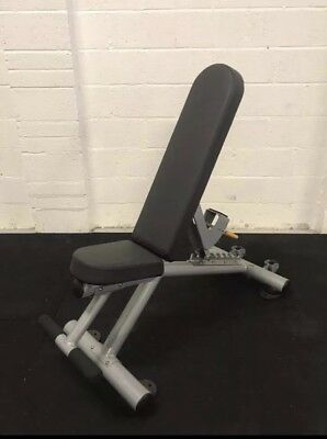 Hammer Strength Athletic Multi Adjustable Bench Commercial Gym