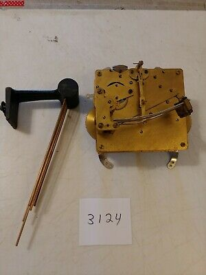 Junghan's / Kienzle Era Westminster Chimes Tambour Mantle Clock Movement And Chi