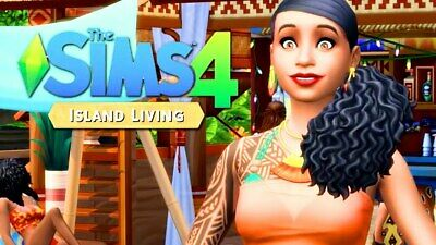 THE SIMS 4 ISLAND LIVING expansion Origin key