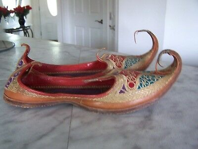 Vintage Traditional Punjabi Jutti Indian Khussa Mojari Jooti Shoes Ladies Juti