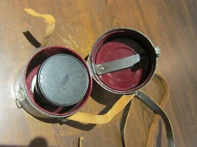 Carl Zeiss Pro-Tessar 1:3.2 f=35mm Lens  Germany  Original Leather case/stand