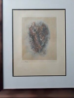 Salvador Dali Lithography 50 x 65 Bfk Rives Stamp Dry Signed Pencil D2029