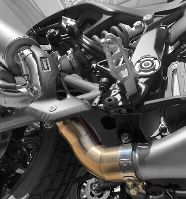 Indian FTR1200 Decat Link Pipe - Compatible with Akrapovic Exhausts