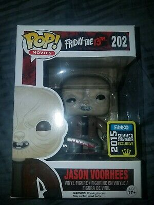 SDCC 2015 Jason Voorhees Unmasked Funko Pop Friday The 13th Vinyl 202