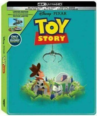 Toy Story - Limited Edition Steelbook [4K Ultra HD + Blu-ray] New And Sealed!!