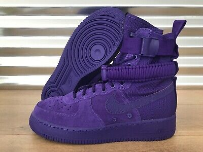 new concept 5196b 32ec0 NIKE SF AF1 High Special Field Air Force 1 Shoes Court Purple SZ (  864024-500 )