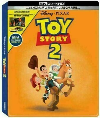 Toy Story 2 - Limited Edition Steelbook [4K Ultra HD + Blu-ray] New And Sealed!!